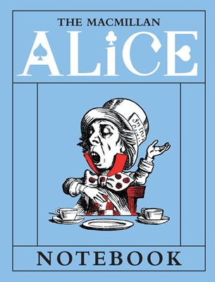 Book cover for The Macmillan Alice: Mad Hatter Notebook